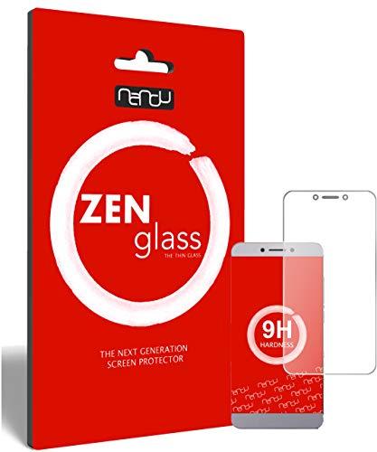 ZenGlass (2 Stück Flexible Glas-Folie kompatibel mit LeEco Le Max 2 Panzerfolie I Bildschirm-Schutzfolie 9H