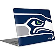 Ultra-Thin, Lightweight MacBook Air 13in Retina (2018-2019) Vinyl Decal Protection Officially Licensed NFL Design Industry Leading Vivid Color Vinyl Print Technology on your Seattle Seahawks Large Logo skin Scratch - Resistant. Built To Last Everday ...