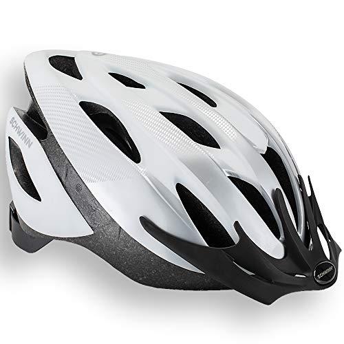 Schwinn Thrasher Adult Lightweight Bike Helmet, Dial Fit Adjustment, Wh