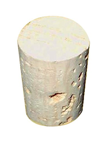 5X Schliffstopfen genormt für Bongs und Wasserpfeifen, Schliffgröße 18,8 mm, aus natürlichem Kork - Head&Nature Bong Shop