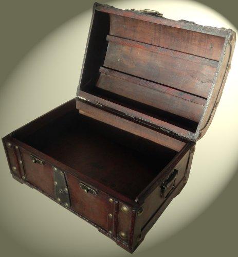 Schatzkiste Piratentruhe Geschenk Box Kasten Größe 34x24x21 - 3