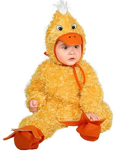Charades Unisex-Baby Little Duck Kleinkindkostme, Weiß, Säugling
