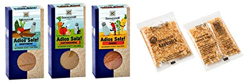 Adios Salz scharf! - mediterran & Gartengemüse + geräucherter Knoblauch 10g Gratis