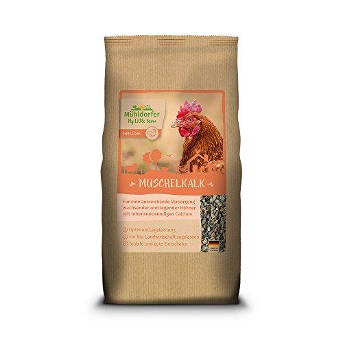 Mühldorfer Futter für Hühner, My Little Farm, Muschelkalk, 2 kg