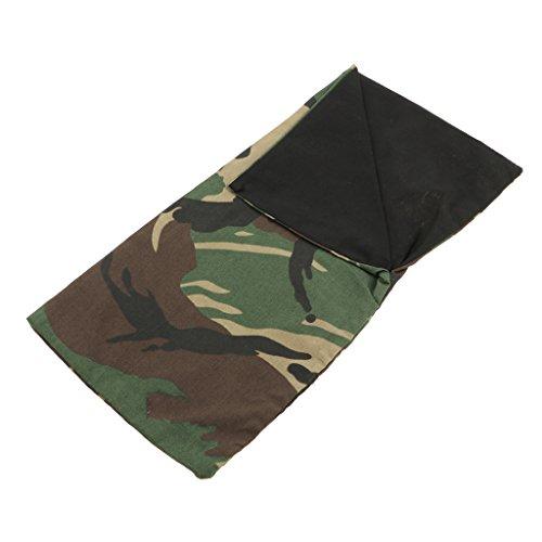 D DOLITY Miniatur Outdoor Wandern Schlafsack Camouflage für 12 Zoll Soldaten Zubehör Szene Cosplay Spielzeug