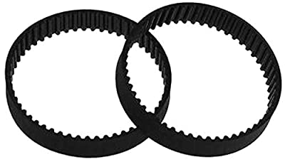 ARUNDEL SERVICES EU 2 x GT2 160 mm Timing Belt with Closed Loop Rubber 2GT 6 mm Parts for 3D Printer 160 mm Synchronous Belt Part