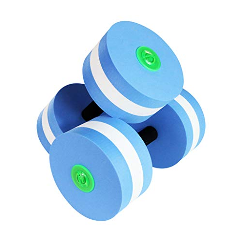 Best Buy! 1 Pair Aquatic Exercise Dumbbells Foam Dumbbells Hand Bar Exercise Detachable Water Aerobi...