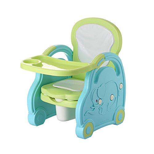 Stool Dana Carrie Cartone animato per bambini sedia piccola baby sedie sedie mangiare bambino seggiolino tavolo da pranzo e sedie poltrone panche, blu-verde