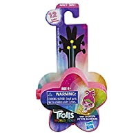 Trolls DreamWorks World Tour Tiny Dancers Series 1 Collectible Wearable Toy Figures, 1 of 12 Different Characters, with Ring or Barrette