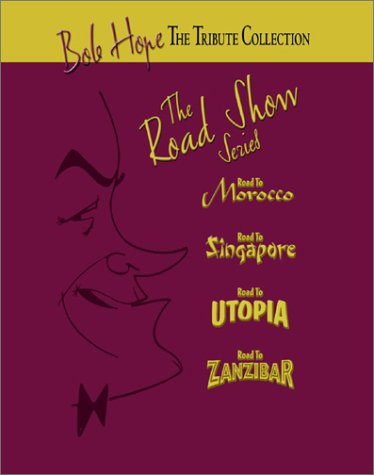 Bob Hope Tribute Collection - The Road Show Series (The Road to Morocco / The Road to Singapore / The Road to Utopia / The Road to Zanzibar)