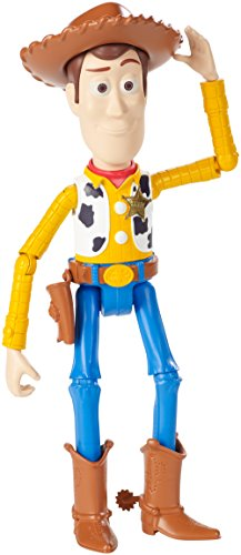 Toy Story- Figurina Woody da 18 cm con Articolazione Estesa, Giocattolo per Bambini di 3+ Anni, FRX11