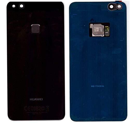 Tapa de la batería, parte posterior, cubierta de la batería para Huawei P10 Lite Negro / con Sensor / lámina adhesiva/ herramienta