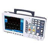 Osciloscopio digital, SDS6062E Osciloscopio portátil de 2 canales con ancho de banda de 60MHz 500MS/s Frecuencia de muestreo(EU)