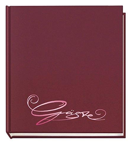 Veloflex Gästebuch Classic 205x240mm 144 Seiten (Einzeln, aubergine)