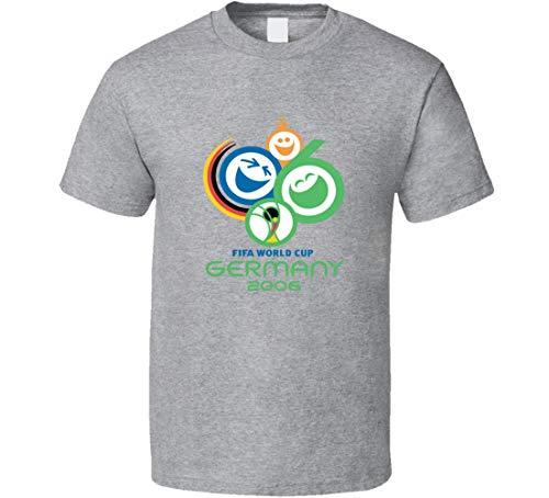 Camiseta de fútbol con logotipo de la Copa del Mundo de Alemania...