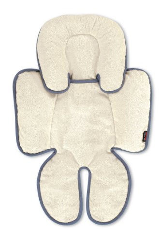 Britax Adjustable Head and Body Support Pillow for Car Seats and Strollers | Crash Tested + Reversible Fleece and Moisture Wicking Fabric + Machine Washable