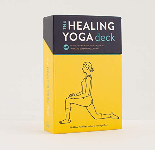 The Healing Yoga Deck: 60 Poses and Meditations to Alleviate Pain and Support Well-Being