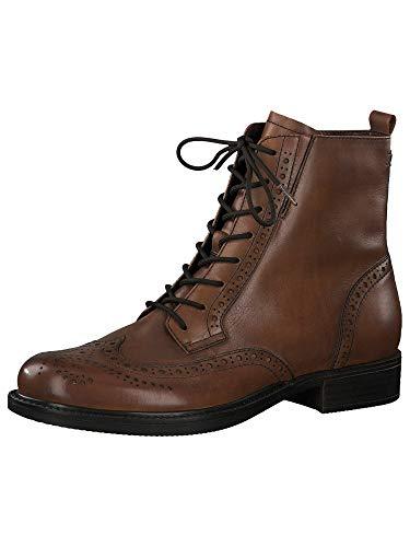 Tamaris Damskie buty 1-1-25106-25 botki, koniak - 38 EU