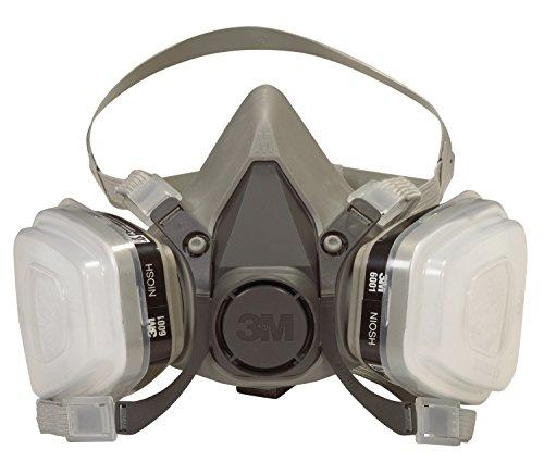 3M 6211PA1-A Dual Cartridge Paint Spray Respirator
