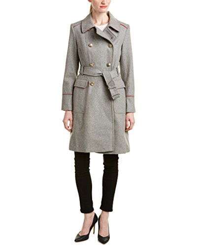 This wool 7th anniversary gift coat for women is perfect for your wife