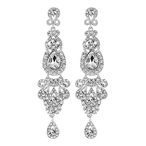 UINGKID Damen Ohrringe Mode Ohrstecker Vintage Luxus voller Diamant Temperament Schmuck