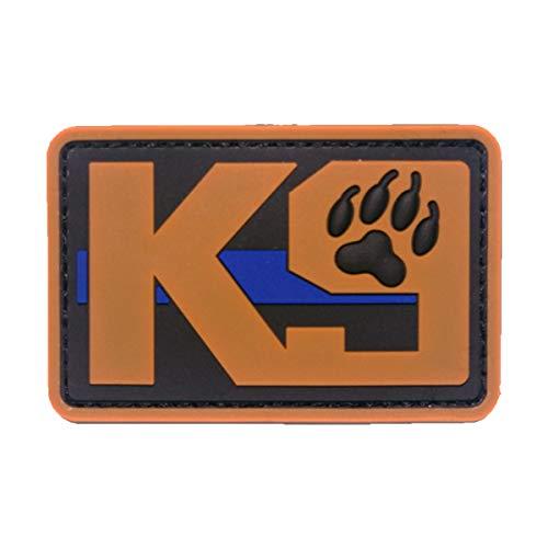 Cobra Tactical Solutions K9 Dog Patch negro/marrón avec Fermeture Velcro avec Fermeture Velcro per Airsoft/Paintball