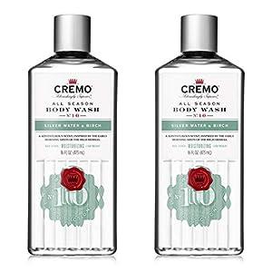 Cremo Rich-Lathering Silver Water & Birch Body Wash, A Revitalizing Combination of Glacier-Fed Streams and White Birch… 2