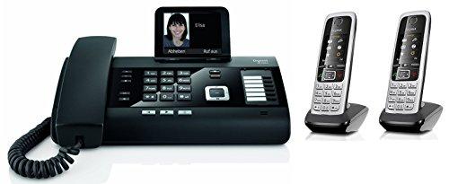 Gigaset DL500A SET mit 2x C430H Mobilteil - analog, Anrufbeantworter, Bluetooth® ECO DECT