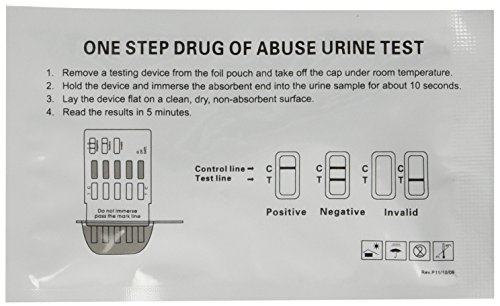 Great Price! Instant Single Panel Drug Test Kit - Test for Marijuana (THC) - 15 pk