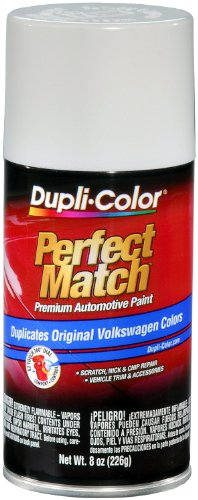 Dupli-Color EBVW20417 Candy White Volkswagen Perfect Match Automotive Paint - 8 oz. Aerosol