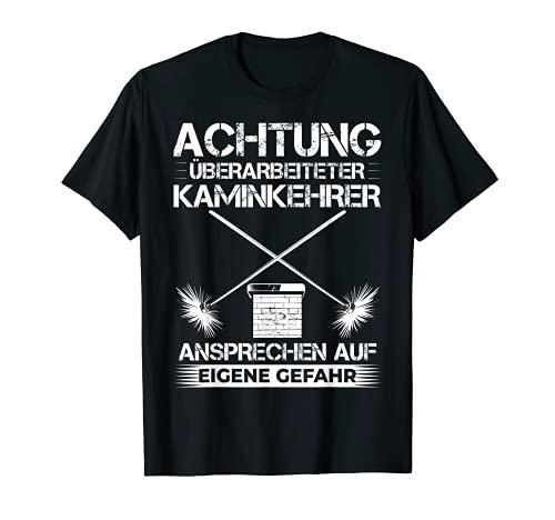 Kaminfeger Schornsteinfeger Kostüm Essenkehrer Kaminkehrer T-Shirt