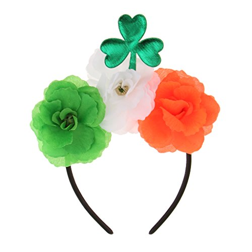 dailymall Grünes Kleeblatt Blumen Stirnband St. Patrick's Day Party Parade Dress Up