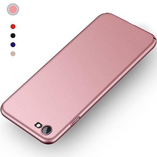 Aollop HüllefüriPhone7/iPhone8, Ultra Dünn Stoßdämpfend,Staubschutz,Anti-Kratz Schutzhülle,FederleichtHülleBumperCoverSchutztascheSchaleCasefüriPhone7/iPhone8(4.7 Zoll-Rosa)