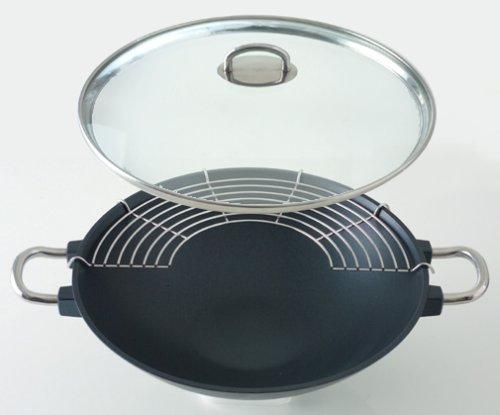 石黒智子のシンプルな台所道具 新・中華鍋 28cm DY-0036の詳細を見る
