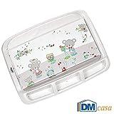 Brevi 011 Confort- Cambiador de bebé con dibujo de conejitos 45 cm x 78 cm multicolor