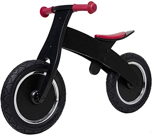 Sale!! Black Sport Balance Bicycle Balance Bicycle Adjustable Balance Bike for 2-4 Years Old Kids To...