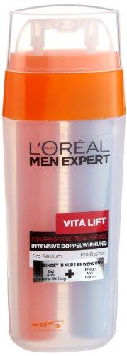 L\'Oréal Paris Men Expert Vita Lift Double, Feuchtigkeitspflege, 3er Pack (3 x 30 ml)