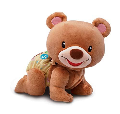 VTech Baby–Krabbelbär, interaktives Plüschtier Sin Talla braun