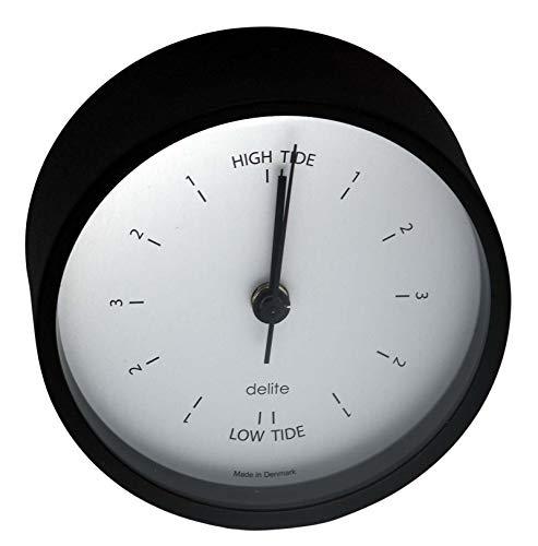 Delite Clausen 606201 - Reloj de pulsera (acero inoxidable, 100 x 44 mm), color negro mate