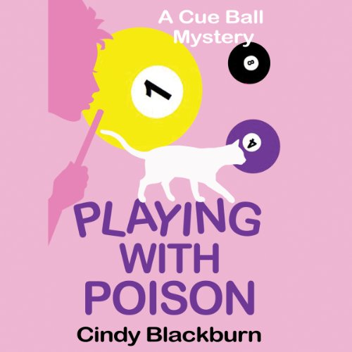 Playing With Poison audiobook cover art