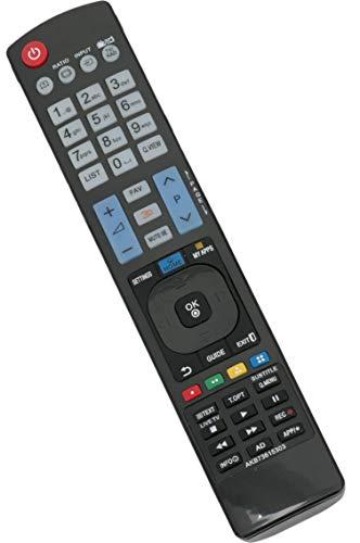 ALLIMITY AKB73615303 Ersetzen Fernbedienung für LG 3D TV 42LM760S 42LM860 42LS570S 42PM4700 47LM620 47LM620S 47LM640 47LM660S 47LM760S 50PM4700 50PM670S 50PM680S