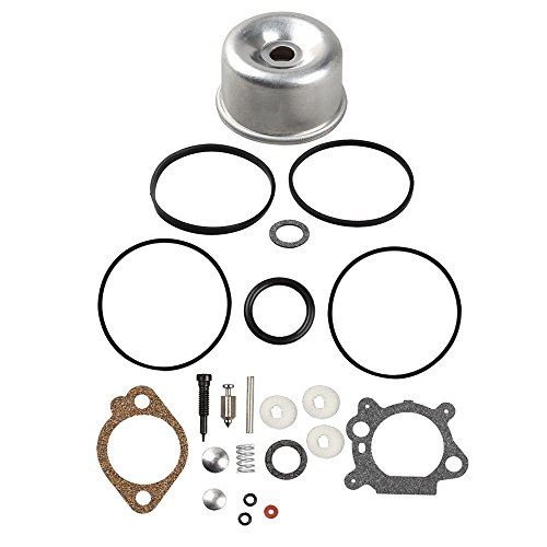 Harbot 493762 Carburetor Float Bowl Seal Ring O Gasket Overhaul Kit for 796611 493640 398191 498260 492495 20-141-1 20-141 Carb Lawn Mover
