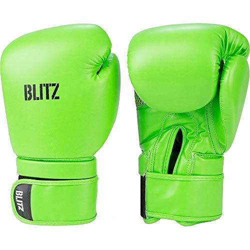 Blitz Omega Boxhandschuhe, neon Green, 226,8 g (8 oz)