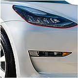 Devil Eye KX004 - Lámina decorativa para faros de coche (flexible, autoadhesiva)