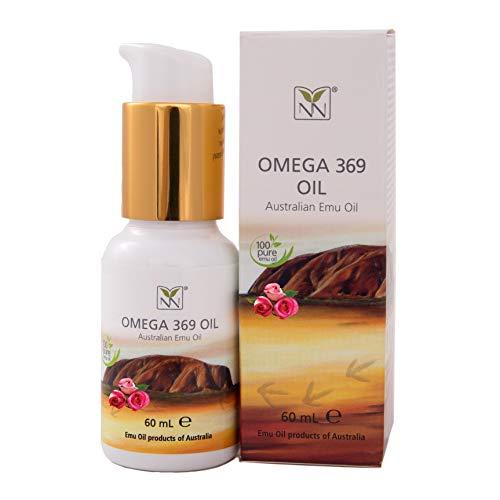 Huile d'ému pure de qualité pharmaceutique infusée avec Rose Wardia (mélange d'huile naturelle)