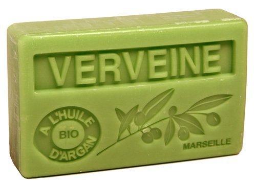 Bio-Arganöl Seife Verveine (Eisenkraut) - 100g