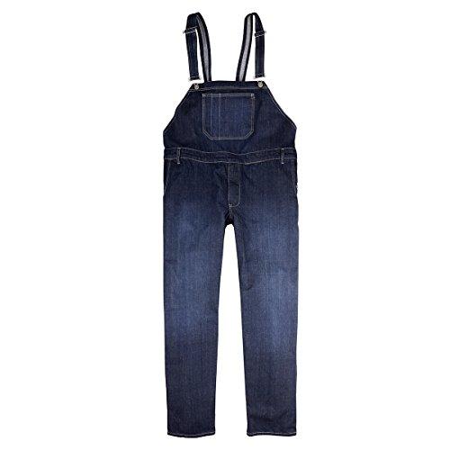 Abraxas XXL Jeans Salopette in gres porcellanato Blu, 2xl-8xl:8XL
