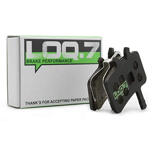 LOQ.7 Fahrrad Scheibenbremsbeläge - organisch für Avid Juicy 3 5 7 Ultimate