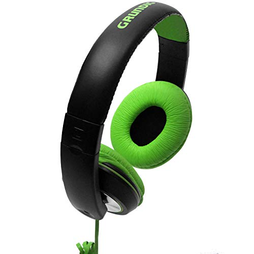 On ear stereo koptelefoon, 20Hz-22.000Hz, verstelbare hoofdband, stereo koptelefoon groen voor MP3 CD iPOD-spelers