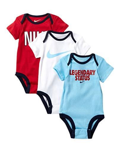 Nike Swoosh Three-Piece Infant Baby Bodysuit Set
